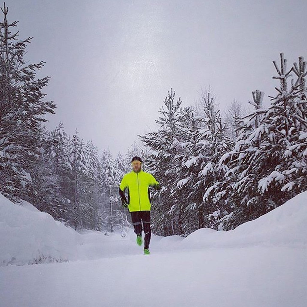 Morten training in northern Norway during the winter months