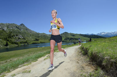 Sarah secures bronze medal in World Mountain Championships in Italy.