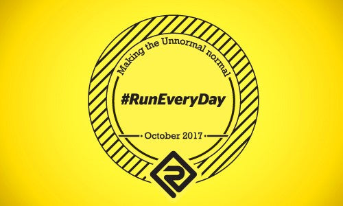 #RunEveryDay October Challenge 2017 – making the 'unnormal', normal.