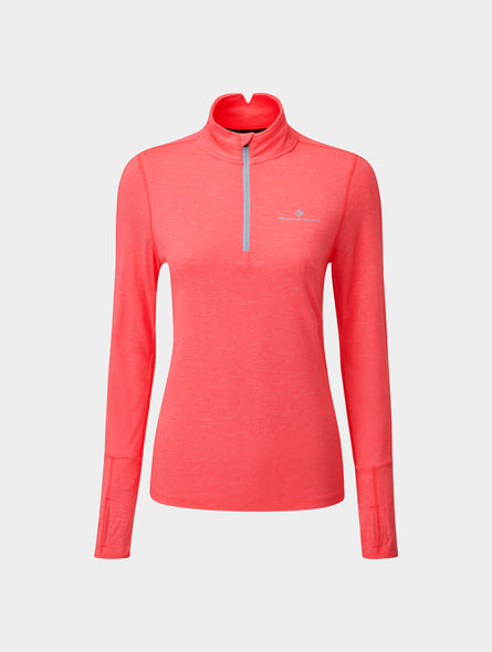 Women's Tech Thermal L/S Zip Tee