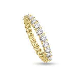 Anello Veretta Full in Oro Giallo 18ct - R267