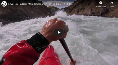 Level Six Paddler Marc Godbout on the Rio Baker in Chile