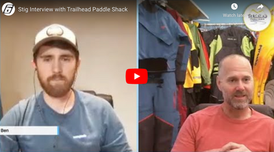 Stig Larsson Interview /w Trailhead Paddle Shack