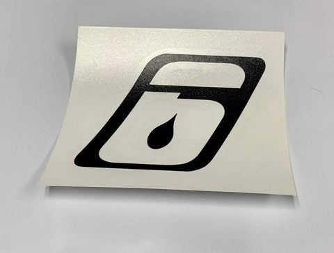action sports company stickers Level Six paddling Canada