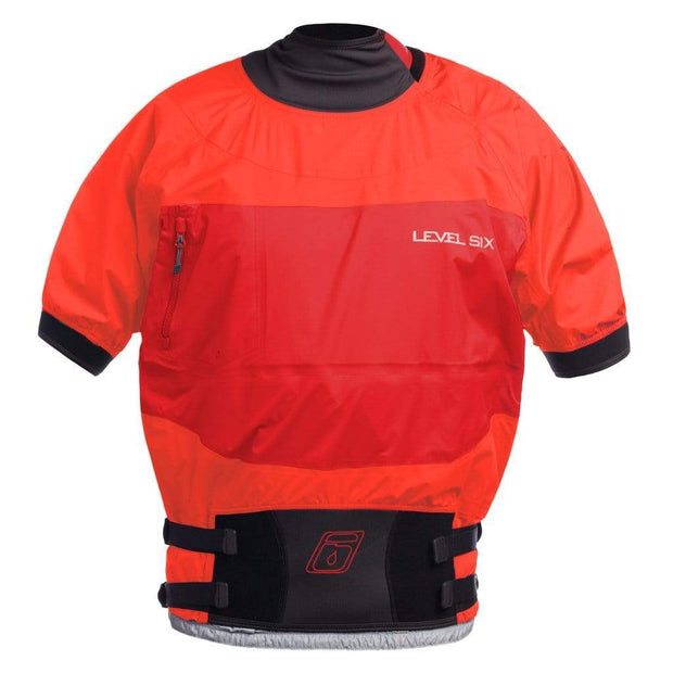 Australis Semi-Dry Top Paddling Tops MOLTEN LAVA / S Level Six