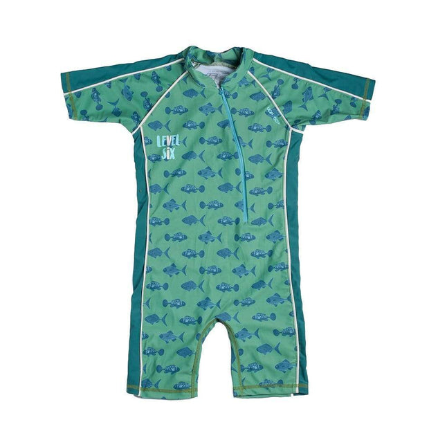 Boy's Apollo Sunsuit Kid's Casual FERN GREEN FISH / 1T Outlet