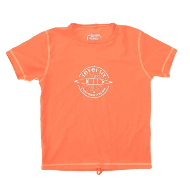 Boy's Bodhi Short Sleeve Sun Guard Kid's Casual ORANGE FADE / 8 Outlet