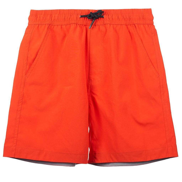 Boy's Snicker Boardshorts Kid's Casual FLAME RED / 4 Outlet