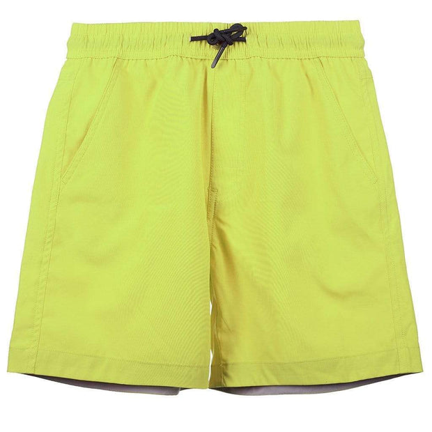 Boy's Snicker Boardshorts Kid's Casual LIME PUNCH / 4 Outlet