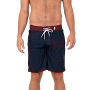 Breaker Boardshorts Boardshorts 30 / Navy / Burgundy Wave Level Six