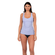 Clearwater Tankini Sun Protection XS / Purple Level Six