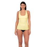 Clearwater Tankini Sun Protection XS / Sunny Lime Level Six
