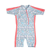 Girl's Aurora Sunsuit Kid's Casual BLUEBERRY BRANCHES / 1T Outlet