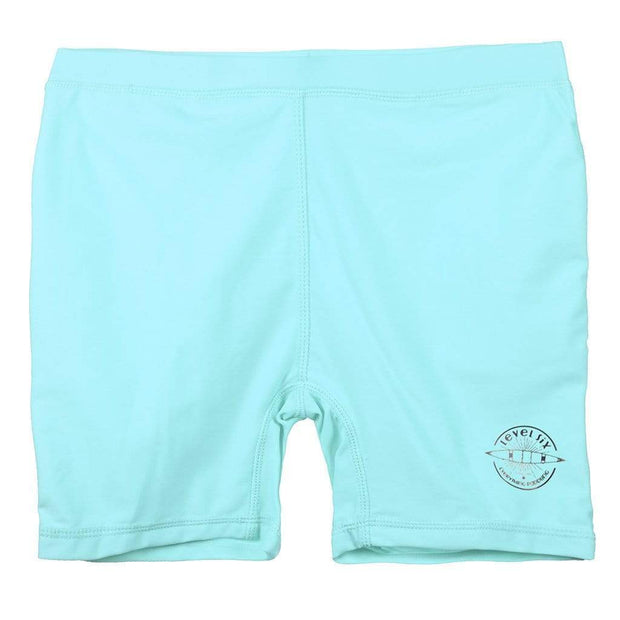Girl's Kailey Lycra Shorts Kid's Casual CUPCAKE BLUE / 1T Outlet