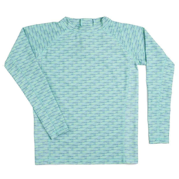 Girl's Stella Long Sleeve Sunguard (Youth) Kid's Casual MIXED DASHES / 4 Outlet