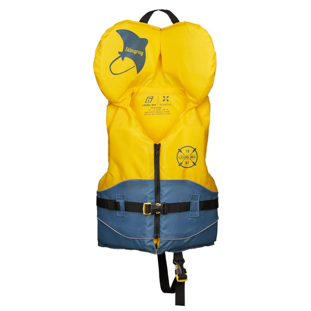 Kid's Stingray PFD (Canadian Only) Safety YELLOW / INFANT Level Six