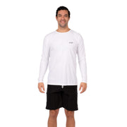 Men's Coastal Long Sleeve Lycra S / White Level Six
