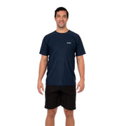 Men's Coastal Short Sleeve Lycra S / Navy Level Six