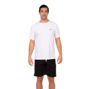 Men's Coastal Short Sleeve Lycra S / White Level Six