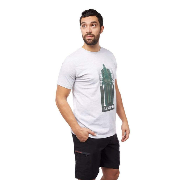 Men's Tree Paddles T-Shirt T-Shirt LIGHT GREY / S Outlet