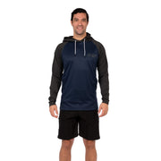Men's Vapour Hoody Lycra S / Navy Level Six