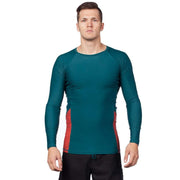 Mercury Long Sleeve Rash Top Mens Sun Protection/Layering DARK WATERS / S Level Six
