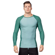 Mercury Long Sleeve Rash Top Mens Sun Protection/Layering SHADOW BLUE / S Level Six