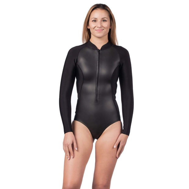 Mystique Neoprene Swimsuit Neoprene Swim XS / Black Level Six