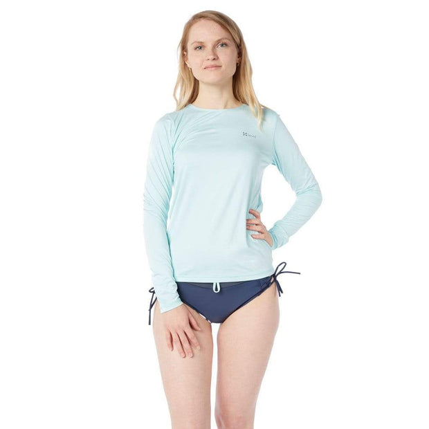 Oasis Long Sleeve Sun Shirt Lycra ICE AQUA MELANGE / S Outlet