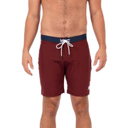 Presley Boardshorts Boardshorts 30 / Burgundy Level Six