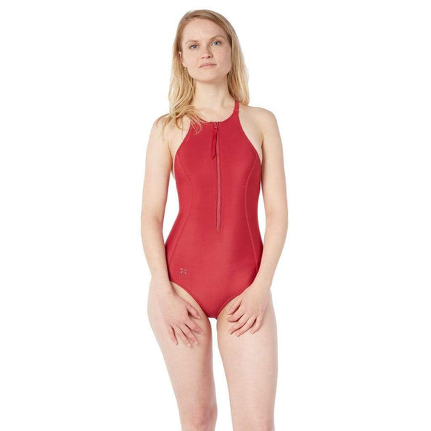 Rogue Neoprene Swimsuit Neoprene Swim CARDINAL / XS Level Six