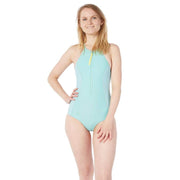 Rogue Neoprene Swimsuit Neoprene Swim SEAFOAM LIGHT BLUE / XS Level Six