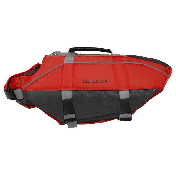 Rover Floater - Canine PFD Safety Blaze Red / XS Level Six