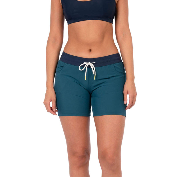 Taiva Boardshorts Boardshorts 4 / Dark Teal Level Six