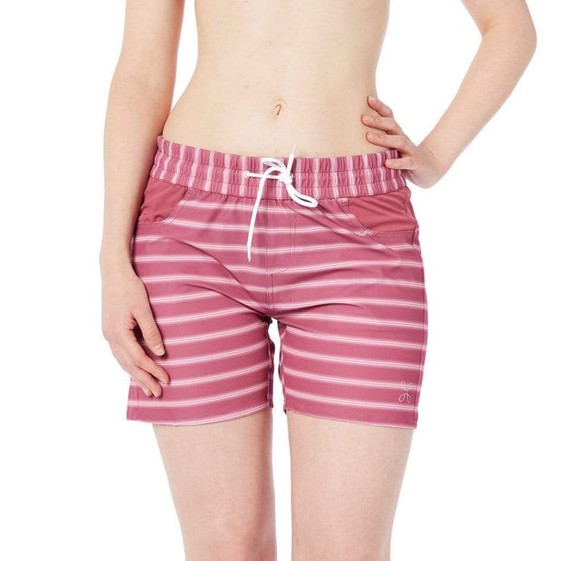 Taiva Boardshorts Boardshorts BLOCK STRIPES LIGHT PINK / 4 Outlet