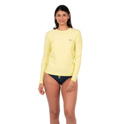 Women's Coastal Long Sleeve Lycra XS / Sunny Lime Level Six