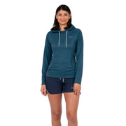 Women's Mist Hoody Womens Sun Protection/Layering XS / Dark Teal Level Six