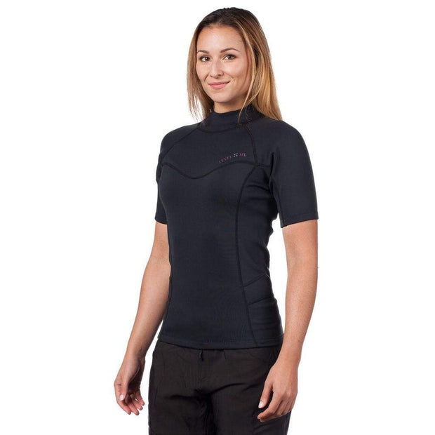 Women's Sombrio Short Sleeve Neoprene Rash Guard Neoprene Outlet