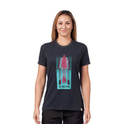 Women's Tree Paddles T-Shirt T-Shirts BLACK / XS Outlet