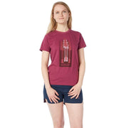Women's Tree Paddles T-Shirt T-Shirts JUNEBERRY / XS Outlet