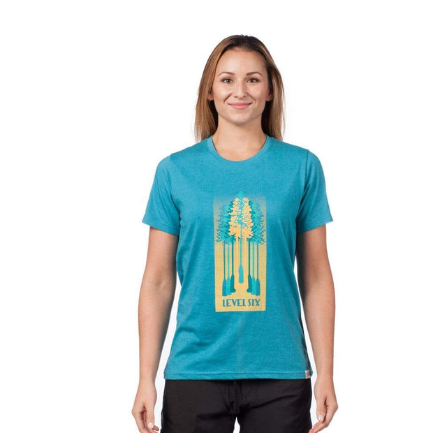 Women's Tree Paddles T-Shirt T-Shirts LAGUNA BLUE / XS Outlet