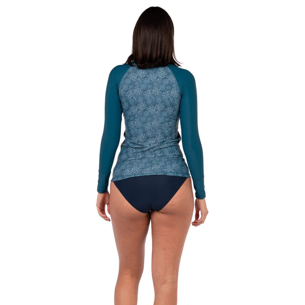 Women's Venus Rash Guard Teal