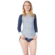 Women's Venus Sun Shirt Lycra BLOCK STRIPES NAVY / XS Outlet