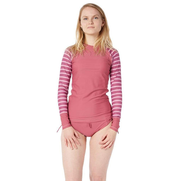 Women's Venus Sun Shirt Lycra JUNEBERRY BLOCK STRIPES / XS Outlet