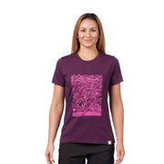 Women's Waves T-Shirt T-Shirts DARK PURPLE / XS Outlet