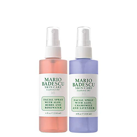 Rosewater and Lavender Duo Facial Spray