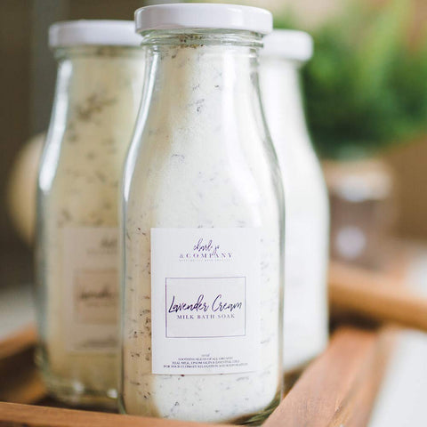 Lavender Cream Bath Milk Soak