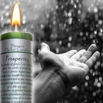 Ritual Magick Blessed Herbal Candle - Prosperity