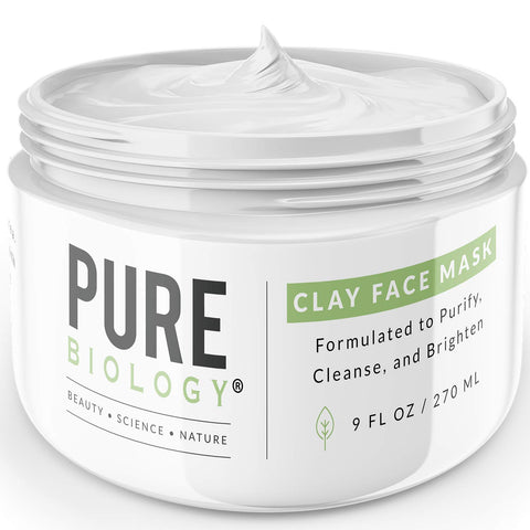 Bentonite Clay Mask – Hydrates & Smooths Wrinkles