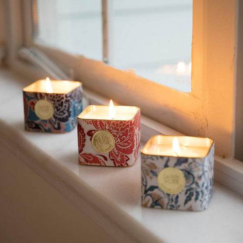 Mediterranean Breeze, Cozy Home, Sweet Passion - Set of 3 Small Votives
